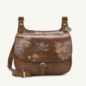 Patricia Nash London Saddle Bag.